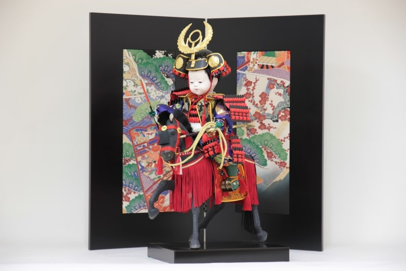 お子様が徳川家康の五月人形に!職人が伝統工芸で作る人気の大将飾り