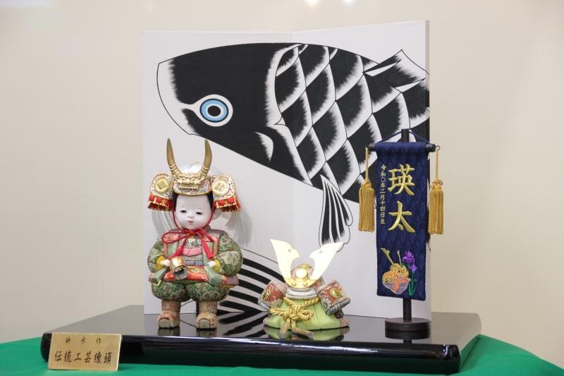 お子様が武田信玄の五月人形に!職人が伝統工芸で作る大将飾り