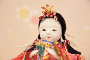 お人形の顔を見た時 『わぁ〜すごい!』と 声がでました。