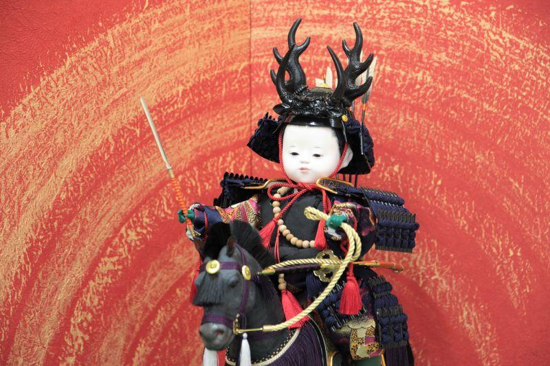 お子様が本多忠勝の五月人形に!職人が伝統工芸で作る大将飾り