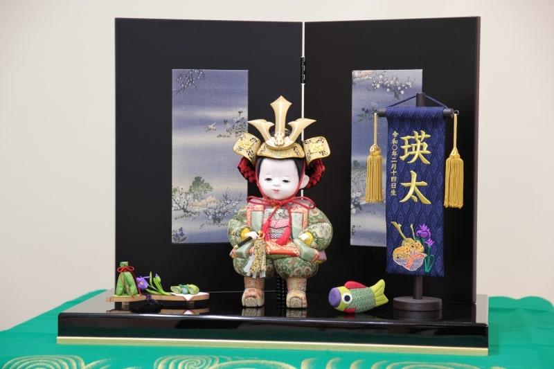 お子様が毛利元就の五月人形に!職人が伝統工芸で作る子供大将